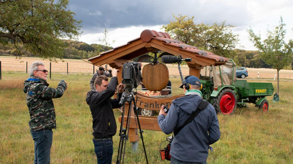 Das SWR-Fernsehen filmte eine Reportage für die Sendung Hierzuland der Landesschau